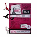 BUKU UNIK Paris Be Mine [CBB-115] - Scrapbook and Patchwork